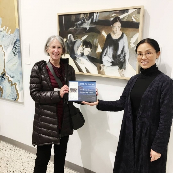 2019 Confluence of Art Annual Best of Show - Barbara Shafer