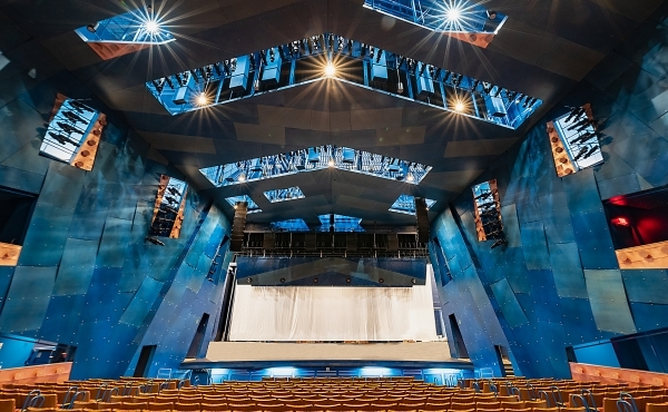 RCU Theatre - Orchestra Level View - Mike Howard Photography