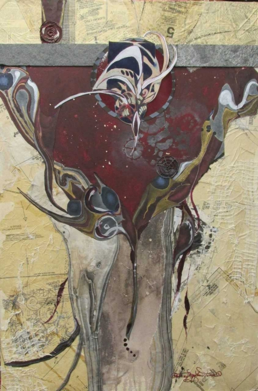 Patricia Mayhew-Hamm - Abstraction is to dance with the brush