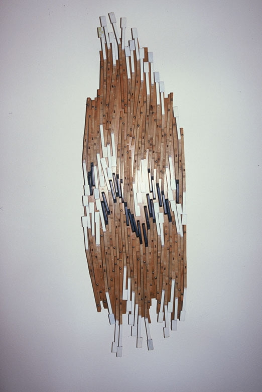 susan-phelps-pearson_cascade_assemblage-piano-keys_19-x-63