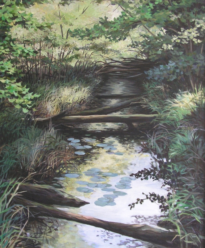susan-phelps-pearson_ice-age-trail-i-summer_acrylic-on-canvas_32-x-37