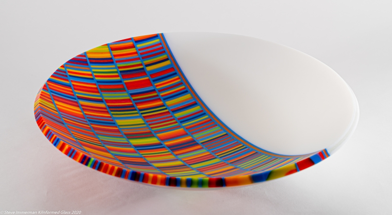 25 - Steve Immerman | DNA_a | Kilnformed glass -  15x15x3 | $1895