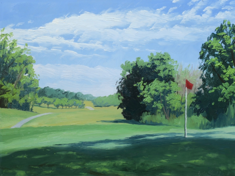 Oakwood Park Golf by Beth Stoddard - 12 x 16 | $475