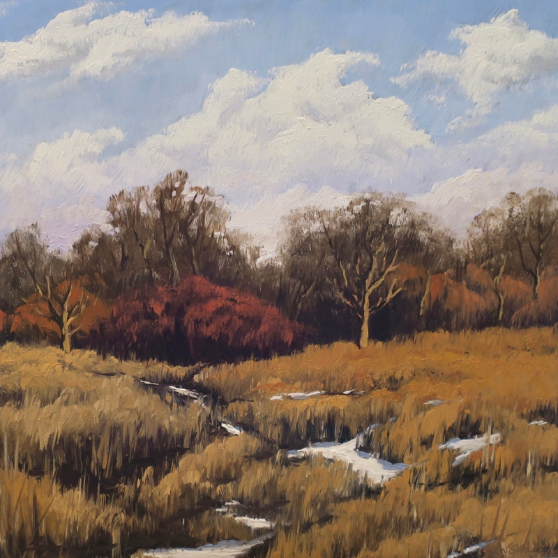 Path to Franklin Savanna by Beth Stoddard - 16 x 16 | $550