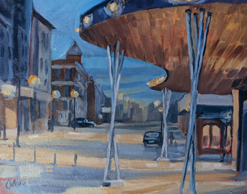 Evening Lights by Michael Olive - 11 x 14 | $395
