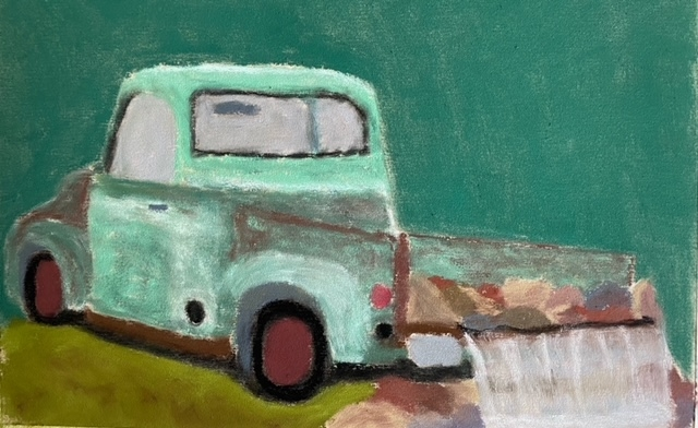 Ford 100 by Susan Estill - 12 x 8 | $200 unframed